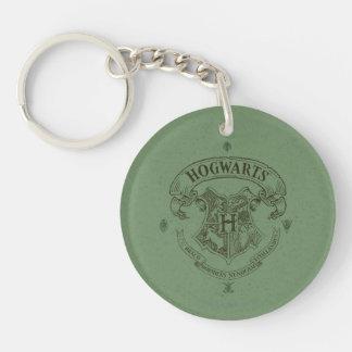 HOGWARTS™ Banner Crest Double-Sided Round Acrylic Keychain