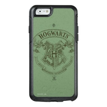 Hogwarts™ Banner Crest Otterbox Iphone 6/6s Case by harrypotter at Zazzle