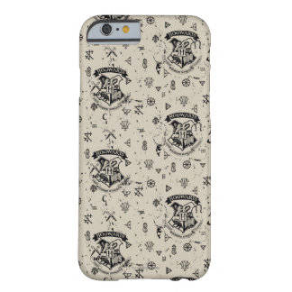 HOGWARTS™ Beige Pattern Barely There iPhone 6 Case