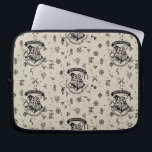"HOGWARTS™ Beige Pattern Laptop Sleeve<br><div class=""desc"">HOGWARTS™ Crest pattern on beige.</div>"