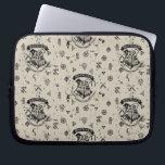 """HOGWARTS™ Beige Pattern Laptop Sleeve<br><div class=""""desc"""">HOGWARTS™ Crest pattern on beige.</div>"""