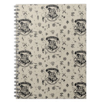 HOGWARTS™ Beige Pattern Notebook