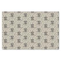 HOGWARTS™ Beige Pattern Tissue Paper