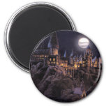 Hogwarts Boats To Castle 2 Inch Round Magnet