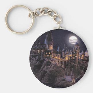 Hogwarts Boats To Castle Basic Round Button Keychain