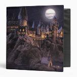 Hogwarts Boats To Castle Vinyl Binder