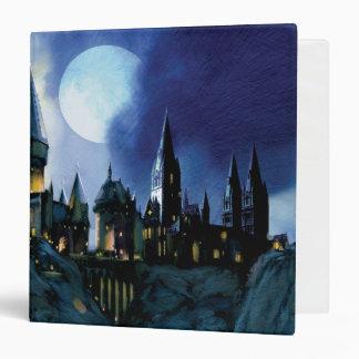 Hogwarts By Moonlight 3 Ring Binder
