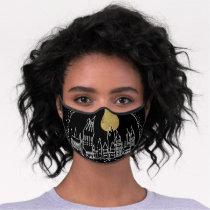 HOGWARTS™ Castle Line Art Premium Face Mask