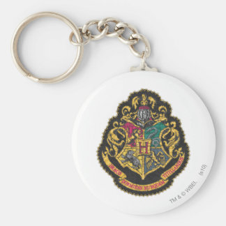 Hogwarts Crest Basic Round Button Keychain