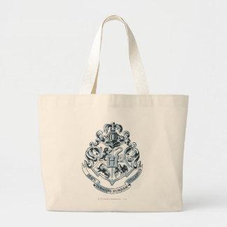 Hogwarts Crest Blue Large Tote Bag