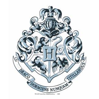 Hogwarts Crest Blue shirt