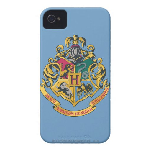 Hogwarts Crest iPhone 4 Cases