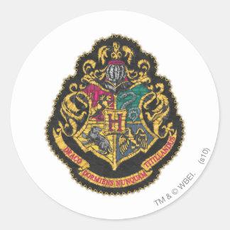 Hogwarts Crest Classic Round Sticker