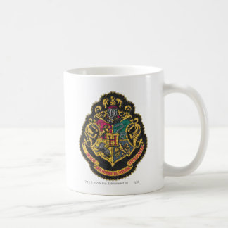 Hogwarts Crest Classic White Coffee Mug