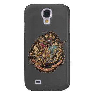Hogwarts Crest - Destroyed Galaxy S4 Cases