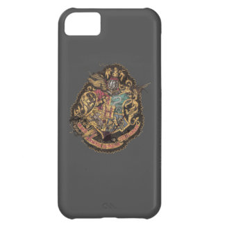 Hogwarts Crest - Destroyed iPhone 5C Covers