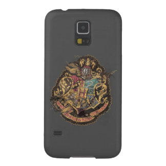 Hogwarts Crest - Destroyed Galaxy S5 Case