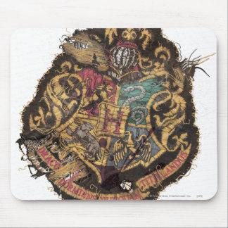 Hogwarts Crest - Destroyed Mouse Pad