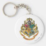 Hogwarts Crest Full Color Basic Round Button Keychain