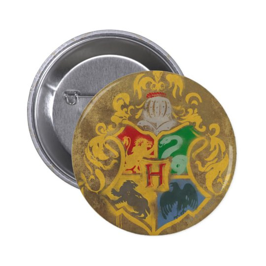 Hogwarts Crest HPE6 Pinback Button
