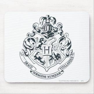 Hogwarts Crest Mouse Pad