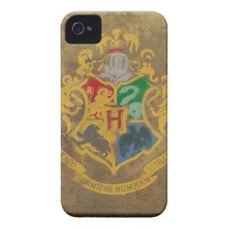 Hogwarts Crest Painted iPhone 4 Case