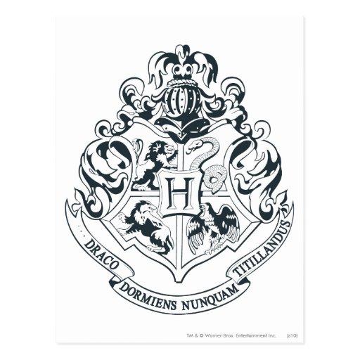 Hogwarts Crest Postcard | Zazzle