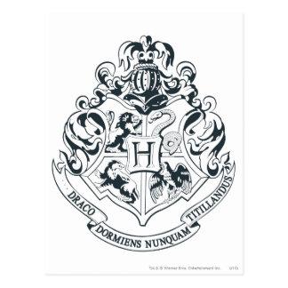 Hogwarts Crest Postcard