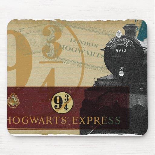Hogwarts expreso alfombrillas de raton
