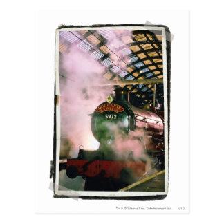 Hogwarts expreso tarjetas postales