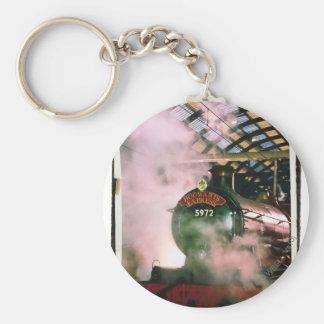 Hogwarts Express Basic Round Button Keychain