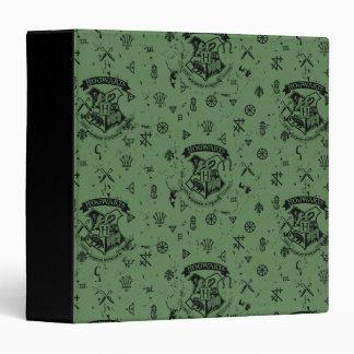 HOGWARTS™ Green Pattern Binder