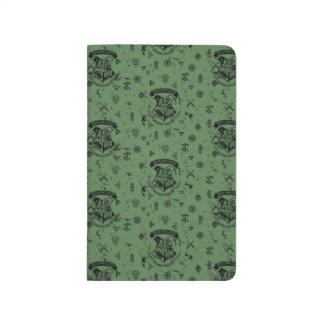 HOGWARTS™ Green Pattern Journal