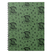 HOGWARTS™ Green Pattern Notebook