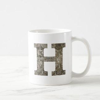 HOGWARTS™ H CLASSIC WHITE COFFEE MUG