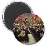 Hogwarts Hall 2 Inch Round Magnet