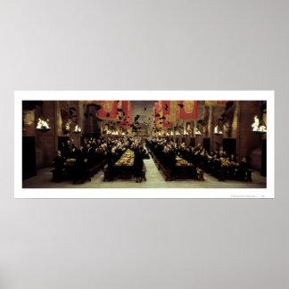 Hogwarts Hall Poster