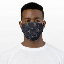 Hogwarts House Crests Constellation Pattern Adult Cloth Face Mask