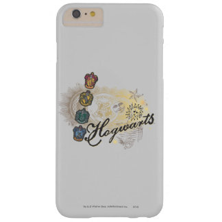 Hogwarts Logo and Professors 2 Barely There iPhone 6 Plus Case