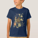 Hogwarts Logo and Profossors T-Shirt