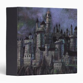 Hogwarts Magnificent Castle 3 Ring Binder
