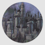 Hogwarts Magnificent Castle Classic Round Sticker
