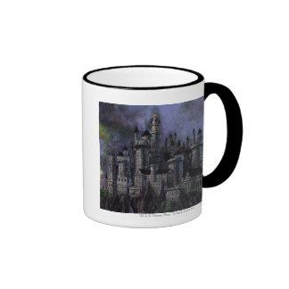 Hogwarts Magnificent Castle Ringer Coffee Mug
