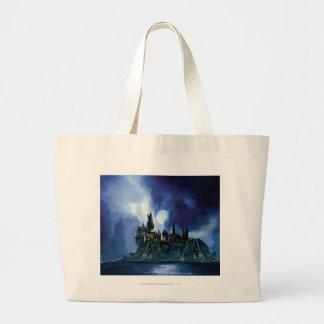 Hogwarts por claro de luna bolsas