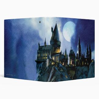 Hogwarts por claro de luna