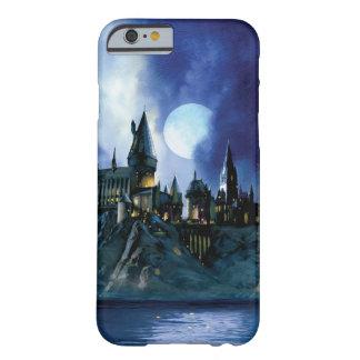 Hogwarts por claro de luna funda para iPhone 6 barely there