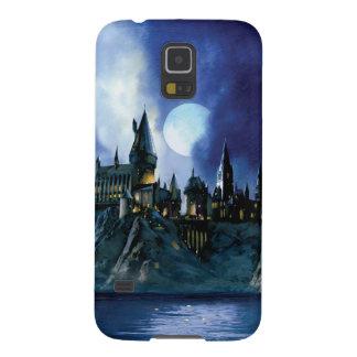 Hogwarts por claro de luna funda de galaxy s5