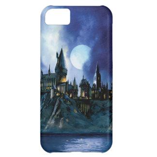 Hogwarts por claro de luna funda para iPhone 5C