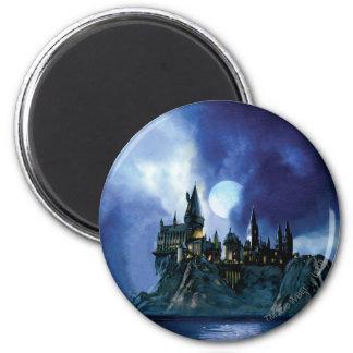 Hogwarts por claro de luna imanes