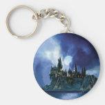 Hogwarts por claro de luna llavero redondo tipo pin